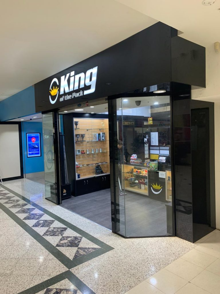 Retail Shop Fit out King Of The Pack Bankstown