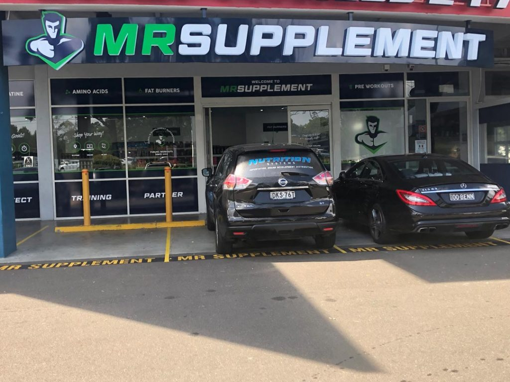 Retail Shop Fit out Mr Supplement Dural