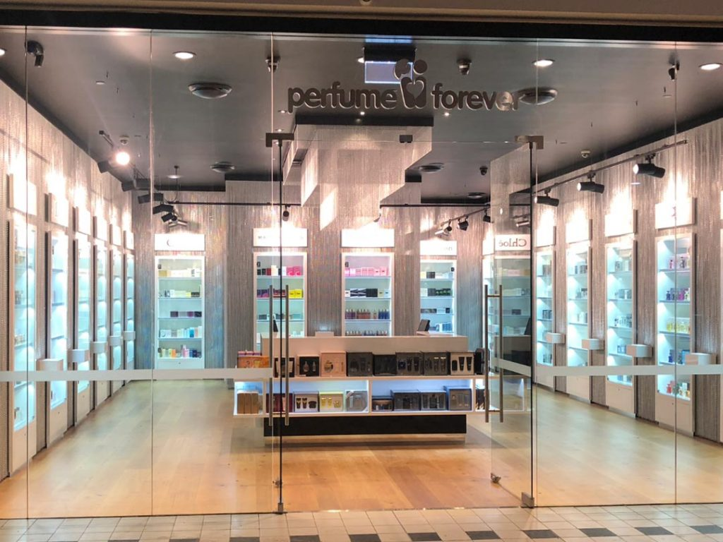 Retail Shop Fit out Perfume Forever